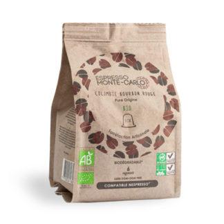 cafe bio capsule biodegradable compatible nespresso