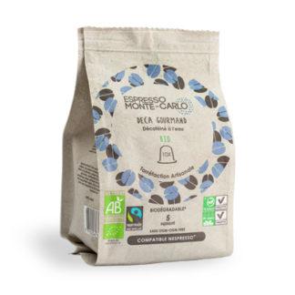 cafe bio capsule deca gourmand bio