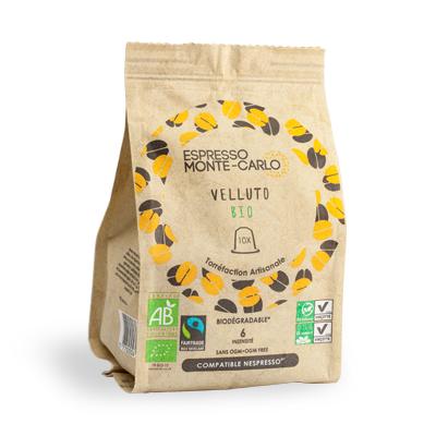 cafe bio capsule veloute bio