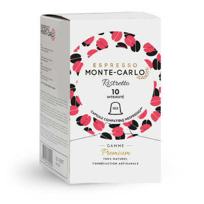 ristretto coffee capsules compatible with Nespresso machines
