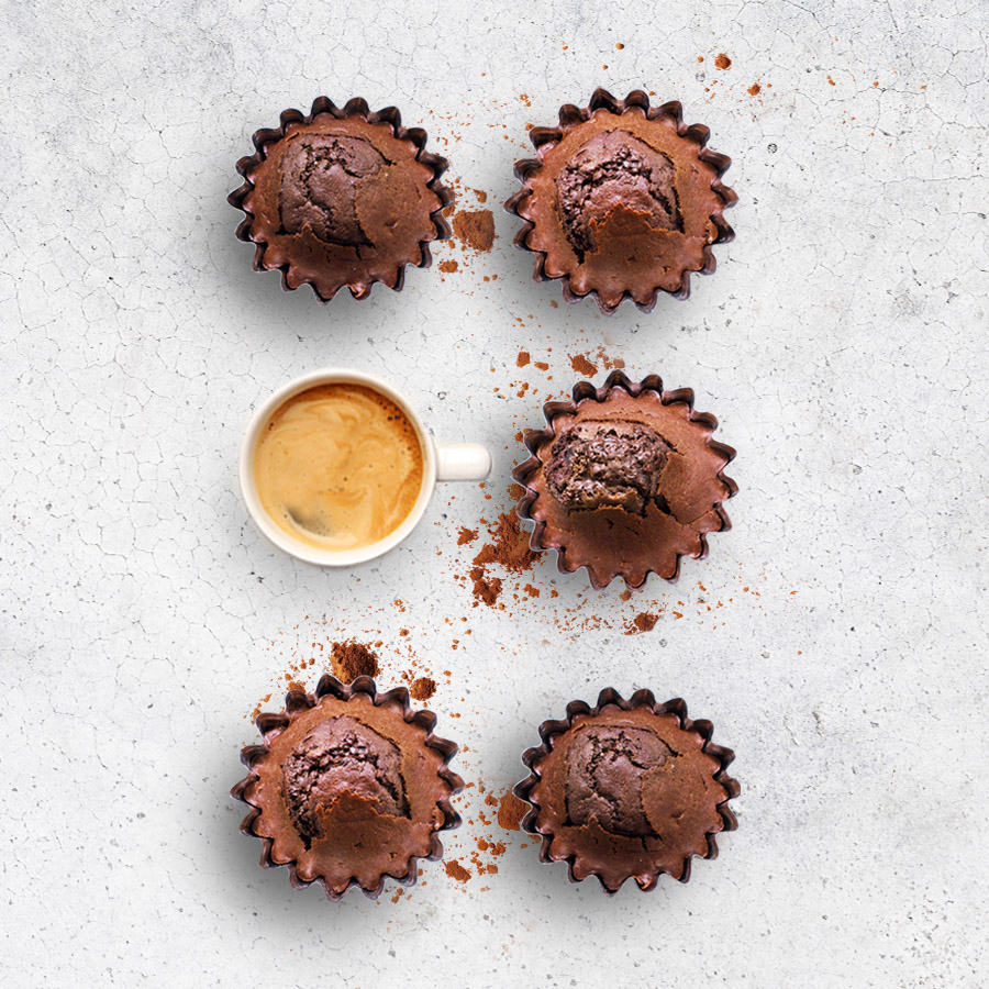 Recette muffins tout chocolat espresso monte carlo