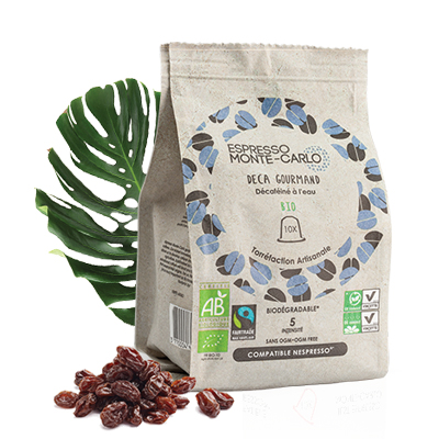 Capsule de café décaféinée compatibles Nespresso