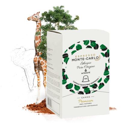 Capsule de cafe espresso monte-carlo