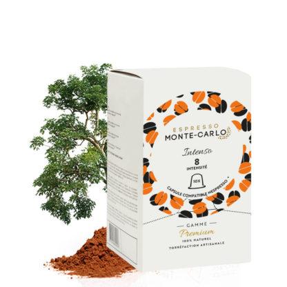 capsules de café compatible nespresso espresso monte-carlo
