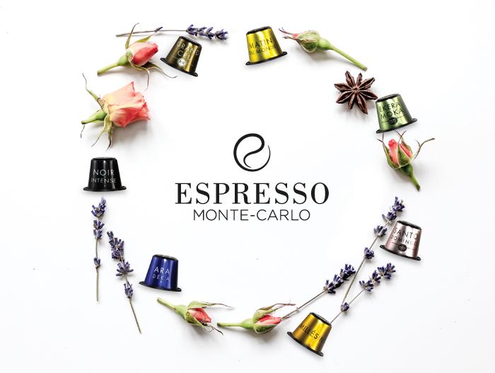 Capsules premium Espresso Monte-Carlo